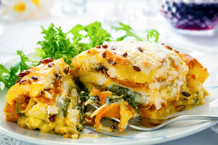 vegetable lasagna, veggie lasagna, vegetarian recipes