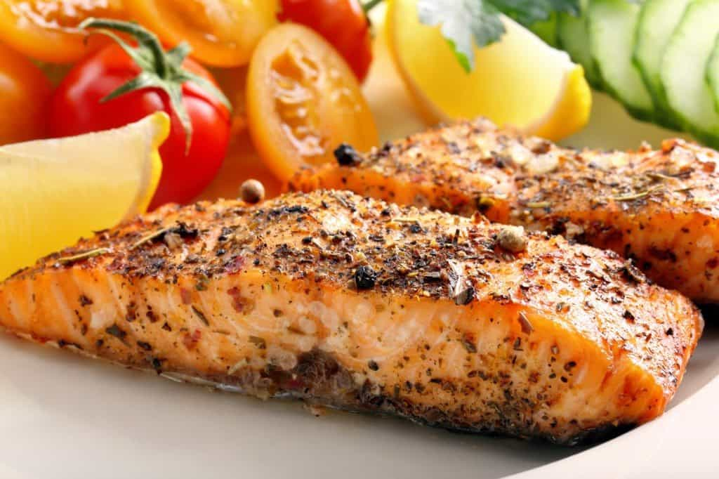 salmon, heart healthy