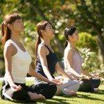 Enjoy Outdoor Yoga