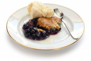 Yummy Simple Blueberry Cobbler