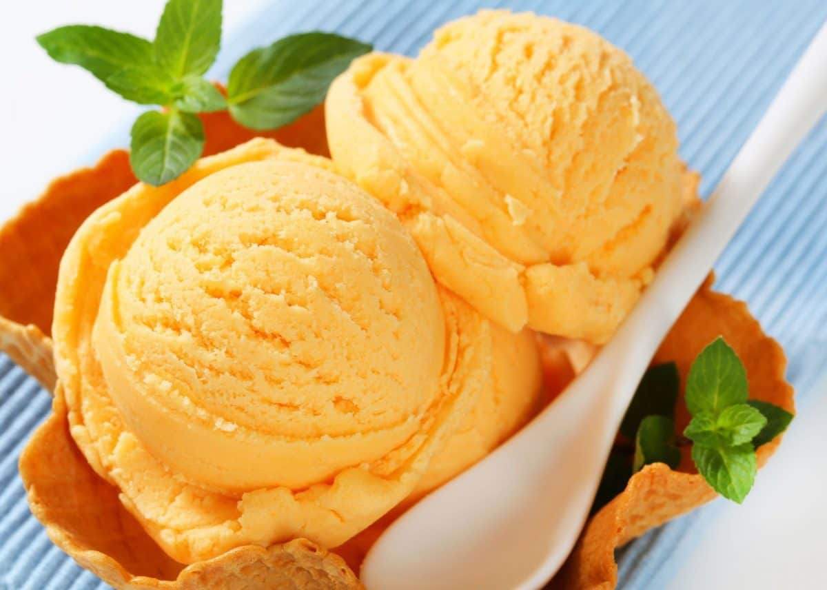 peach ice cream, homemade peach ice cream, peach ice cream recipe