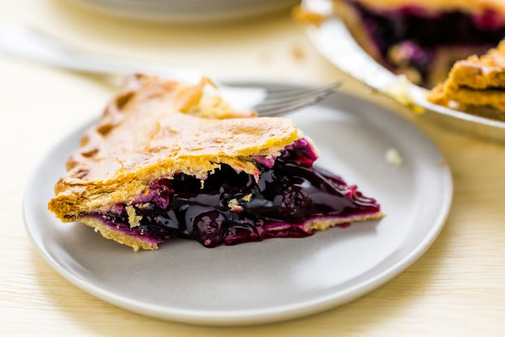 Simply Scrumptious Blueberry Pie