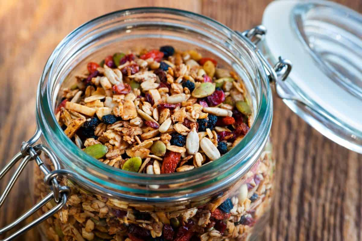 healthy trail mix, national trail mix day