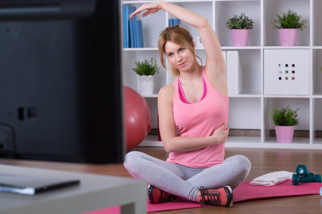 exercises to do at home, couch potato exercises