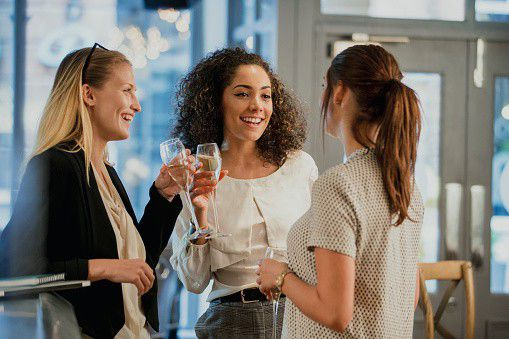 mindful work tips, networking tips