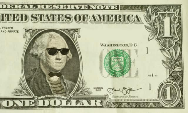 Hipster Nerd George Washington, Mindful Money, Mindful Company,