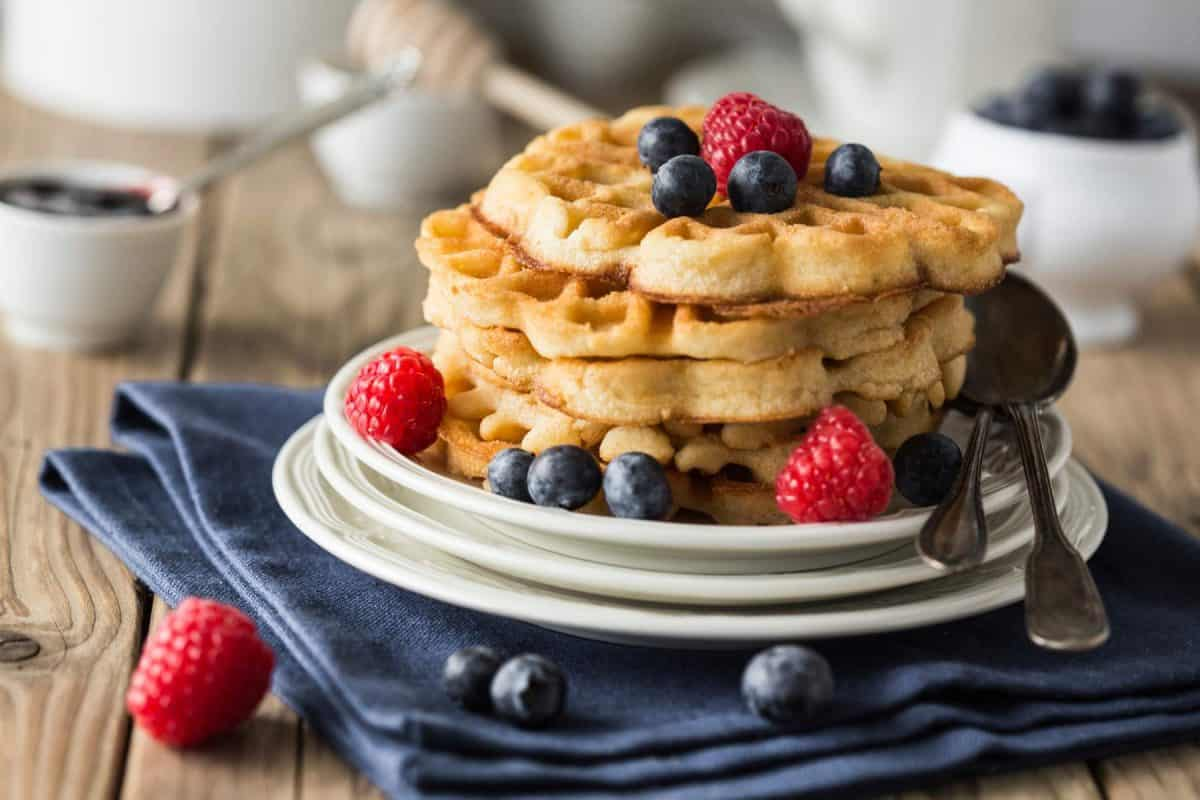 waffles, breakfast, waffle day, sweet potato, homemade waffles