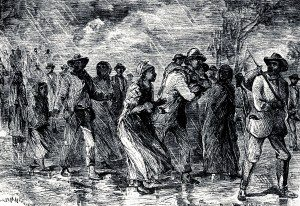 Fugitive slaves on the Underground Railroad