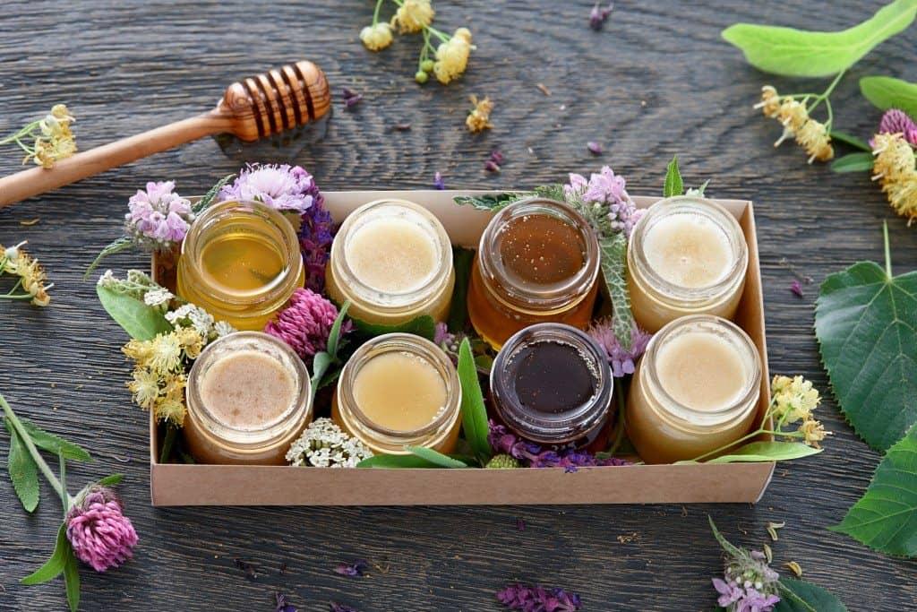 DIY, infused honey, national honey month, homemade honey