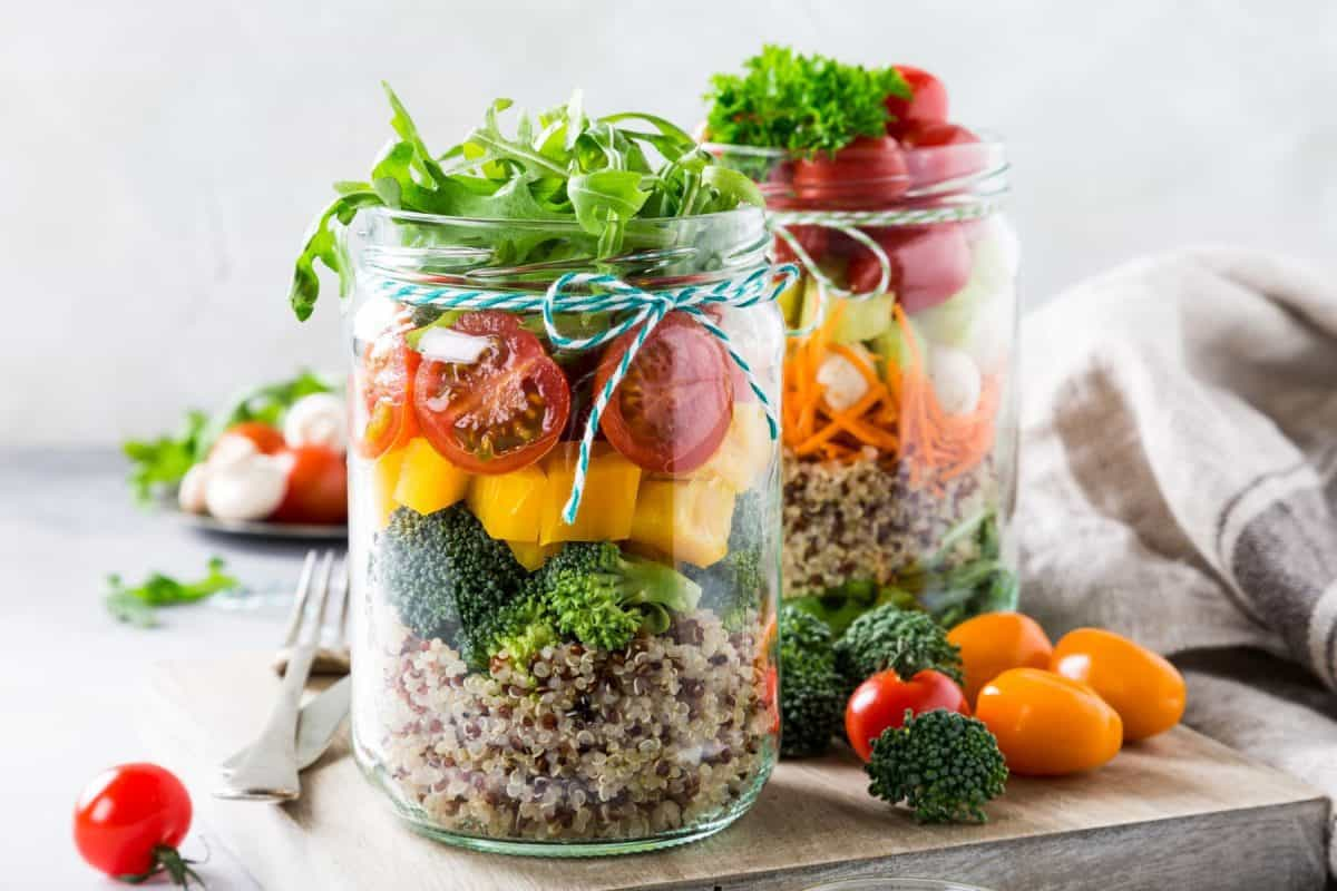 mason jar, school lunch, lunch ideas