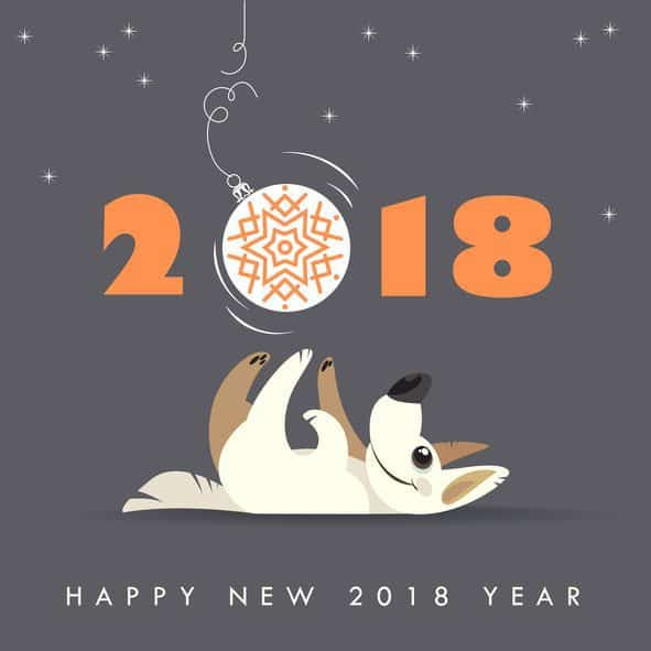 Chinese New Year, year of the dog