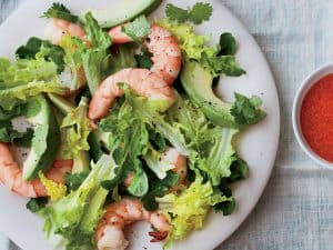 Quick and Healthy Shrimp Salad