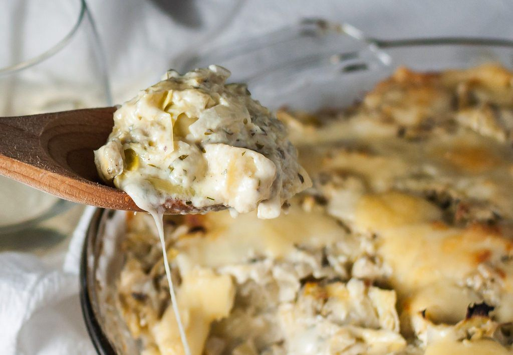 Hot Artichoke Spread or Dip