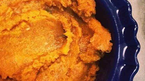 Yummy Sweet Potato Mash