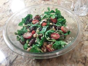 Black-Eyed Pea Kale Salad