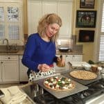 Grilled Zucchini and Ricotta Flatbread