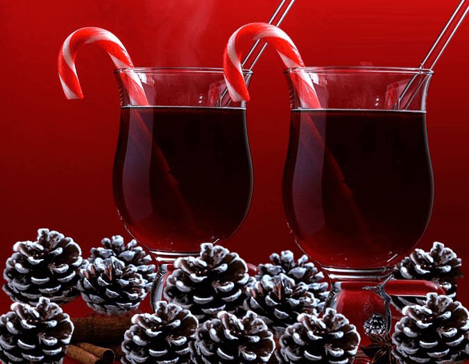 Candy Cane Sparkling Punch