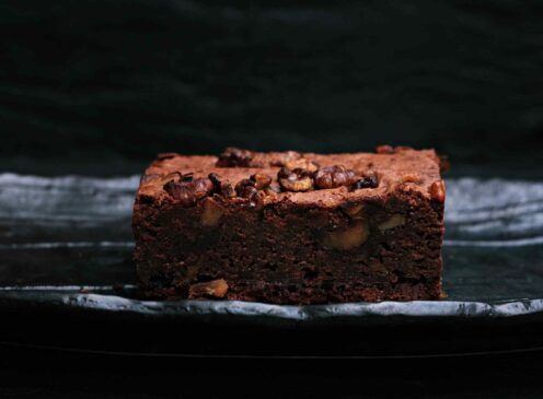 Fudgy Brownies with a Healthy Twist