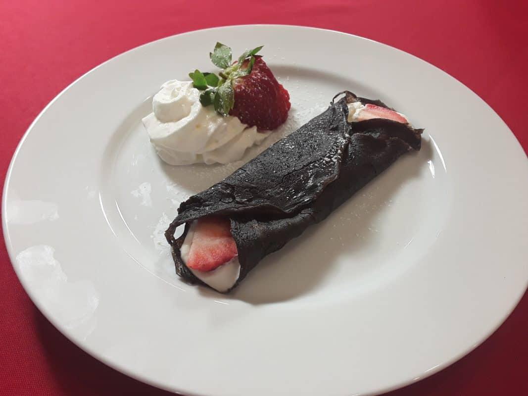 Valentine's Chocolate Crepe