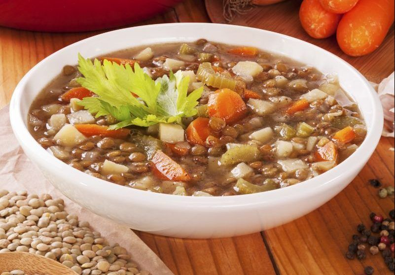 Immune Boosting Lentil Vegetable Soup