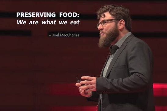 Preserving Food: We are what we eat