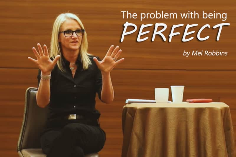 The problem with being perfect