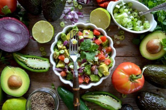 Yummy Summer Avocado Salad