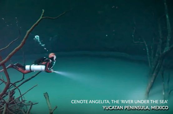 Cenote Angelita, The 'River Under the sea'