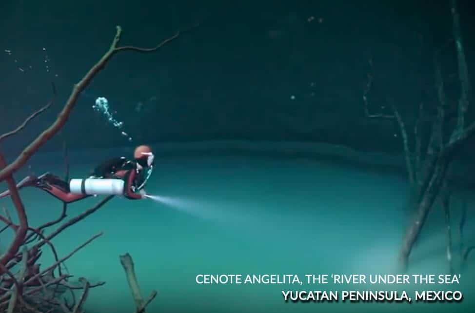 Cenote Angelita, The 'River Under the sea'