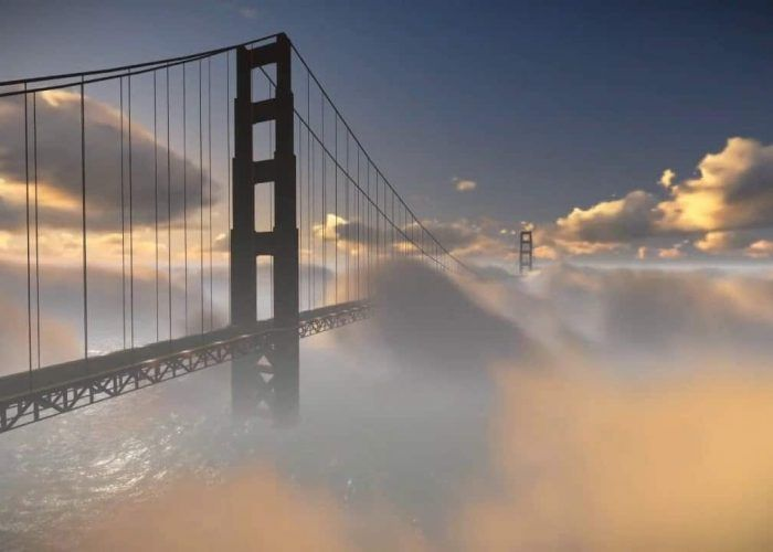 Clouds over the Golden Gate