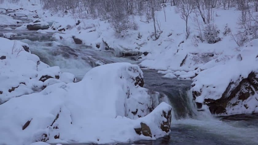 Snowy Mountain River