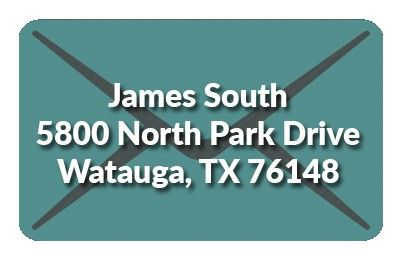 James South mailing address