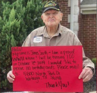James South, Veteran