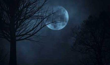 Radiant Full Moon