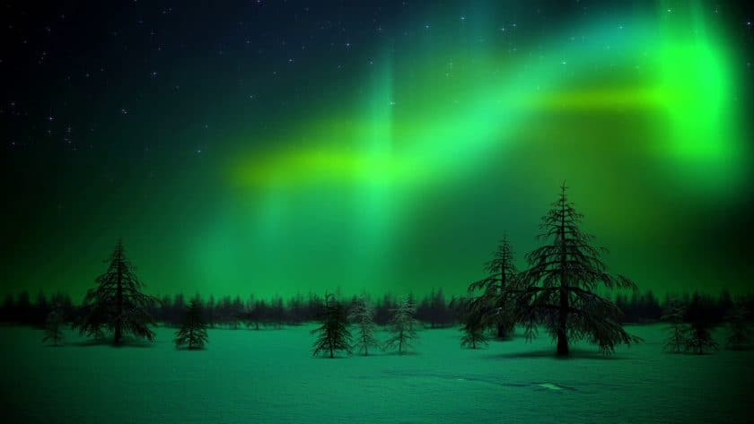 Luminous Northern Lights