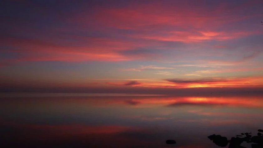 Dazzling Lake Sunrise