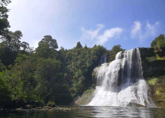 Mystical Jungle Waterfall