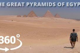 The Great Pyramids of Egypt, A 360° Experience