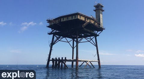 Frying Pan Tower at Cape Fear Cam – Explore.org LIVECAM