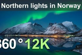 See the Northern Lights in Norway: A Full 360° Experience