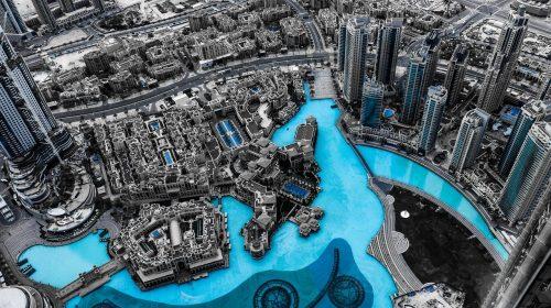 Burj Khalifa Skyscraper Base Jump in 360°