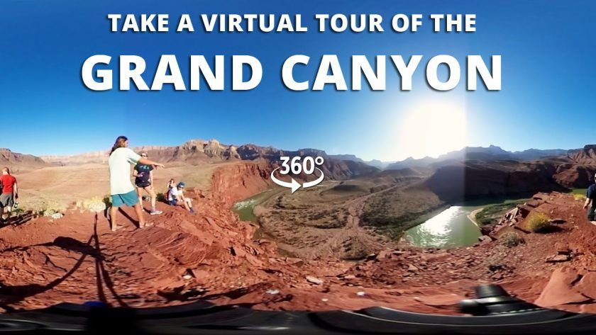 Tour the Grand Canyon in 360°