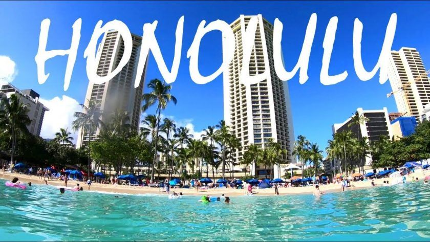 Exploring Honolulu, Hawaii: Take a Walk to Waikiki Beach