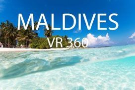 Take A Virtual 360° Swim in the Crystal Waters of Maldives