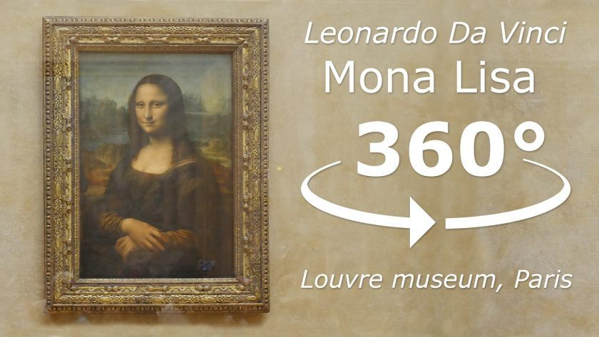 See the 'Mona Lisa': A 360° Tour at the Louvre Museum in Paris
