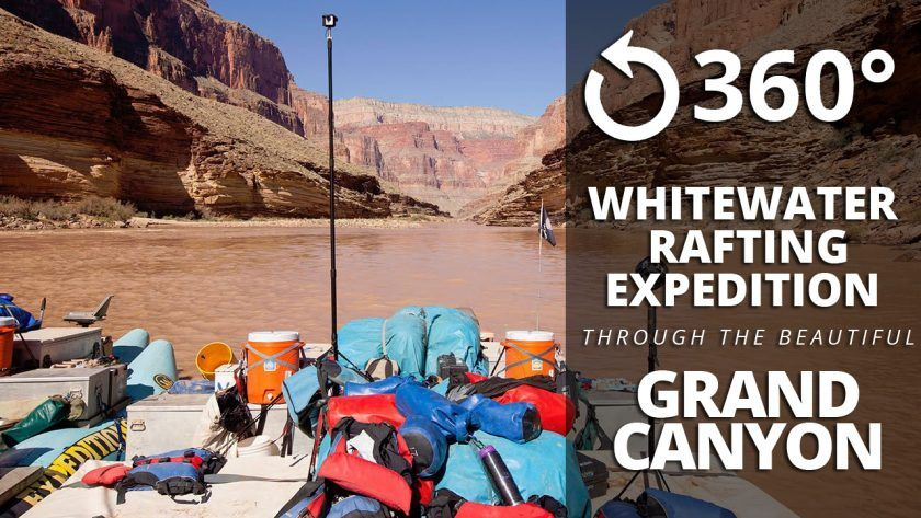 White Water Rafting in the Grand Canyon – Immersive  360° Experience