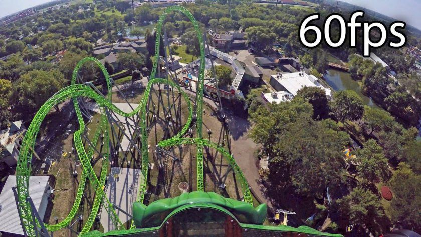 Virtual Ride on 'The Monster' – Amazing Roller Coaster Front Seat Experience