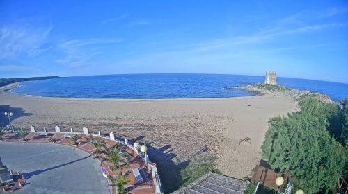 Beautiful Torre di Barì Beach in Sardinia