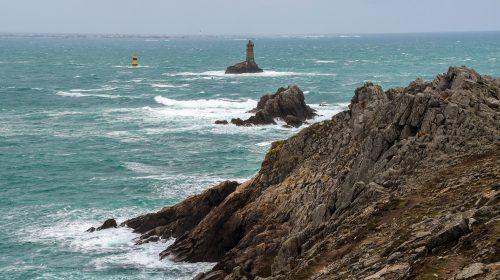 View of France's Pointe du Raz