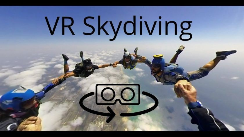 Go (Virtual) Skydiving!